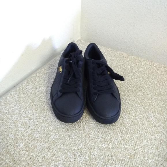 Basket Black Leather Sneakers